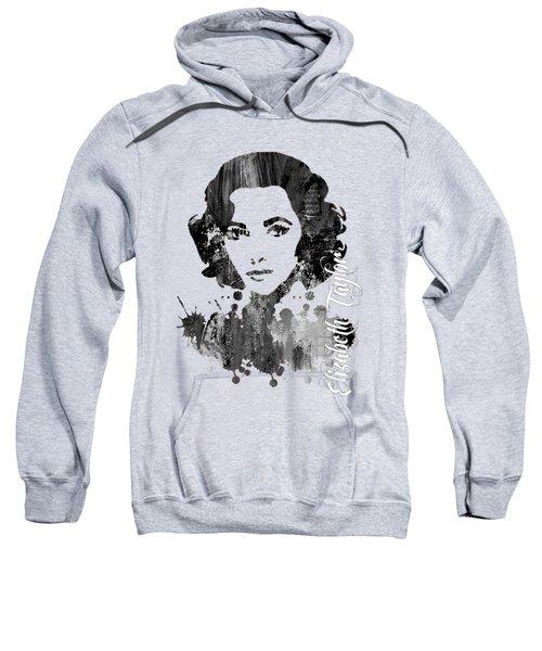 Elizabeth Taylor Collection Sweatshirt by Marvin Blaine