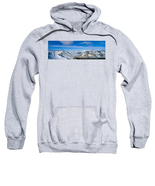 Mountains And Glaciers In Wrangell-st Sweatshirt