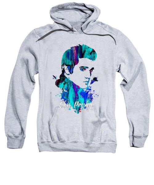 Elvis Presley Collection Sweatshirt by Marvin Blaine