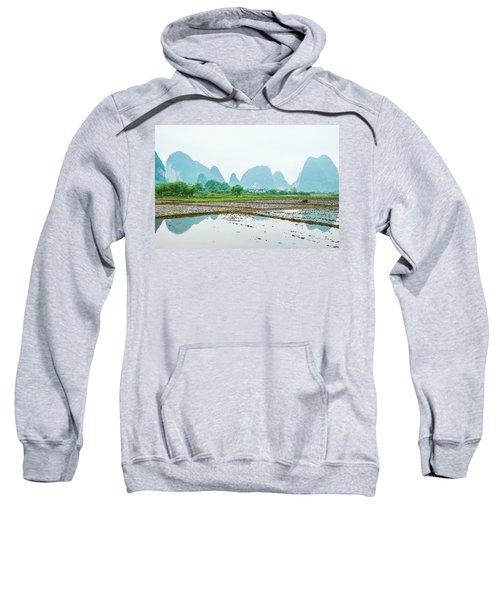 Karst Rural Scenery In Spring Sweatshirt