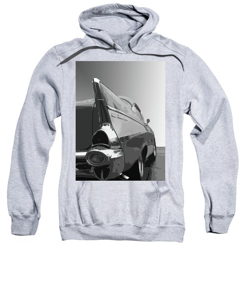 57 Chevy Verticle Sweatshirt