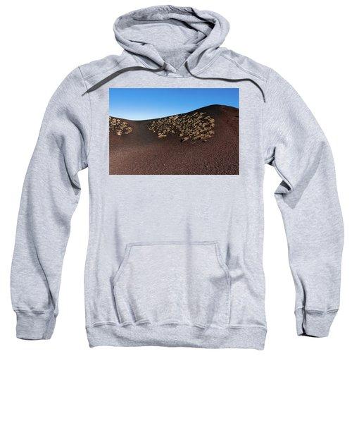 Etna, Red Mount Crater Sweatshirt