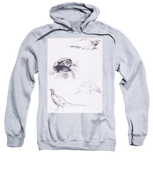 Pheasants Sweatshirt by Archibald Thorburn