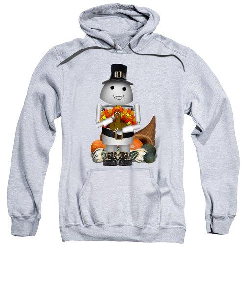 Robo-x9 The Pilgrim Sweatshirt by Gravityx9 Designs
