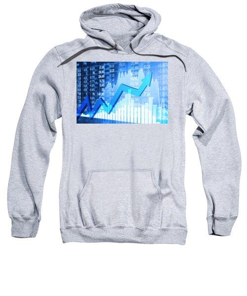 Stock Market Concept Sweatshirt