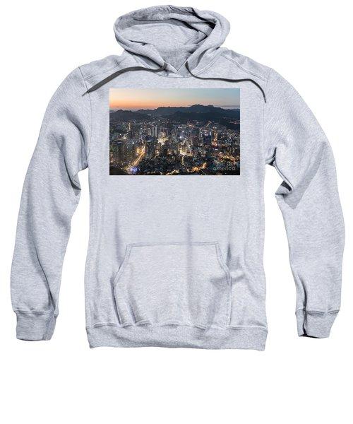 Sunset Over Seoul Sweatshirt