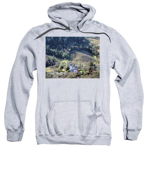 6b6312 Falcon Crest Winery Grounds Sweatshirt