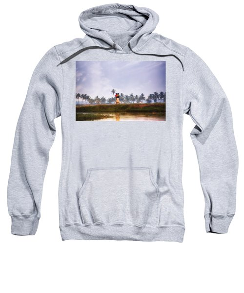 Backwaters Kerala - India Sweatshirt