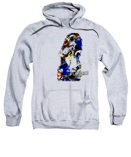Eddie Van Halen Art Sweatshirt