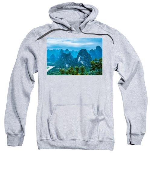 Karst Mountains Landscape Sweatshirt
