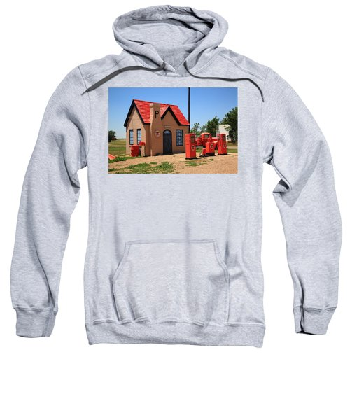 Route 66 - Phillips 66 Gas Station Sweatshirt