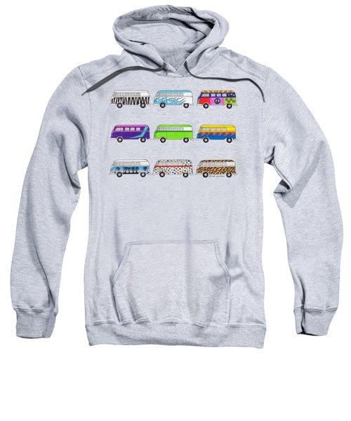 9 Wild Buses Sweatshirt