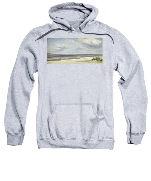 A Beach On The Baltic Sea At Laboe Sweatshirt