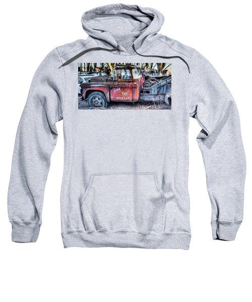 A Beautiful Rusty Old Tow Truck Sweatshirt