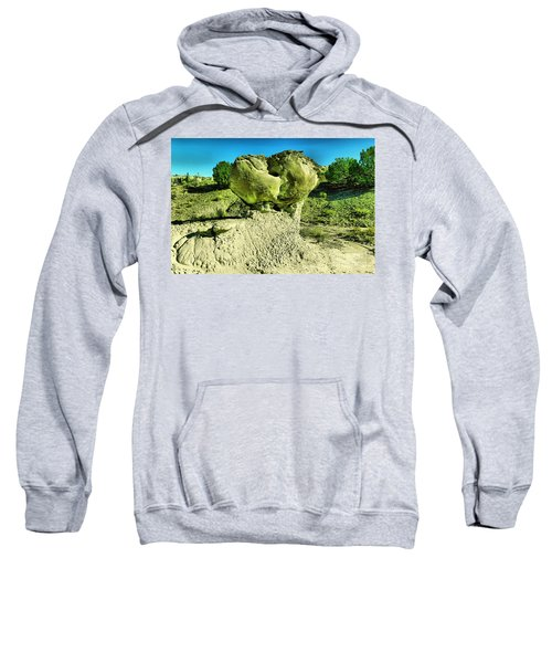 A Boulder On Display Sweatshirt