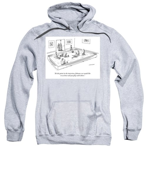 A Bunch Of Adults In Business Clothes Play Sweatshirt