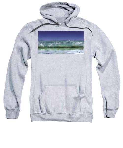 Sweatshirt featuring the photograph A Clean Break by Chris Cousins