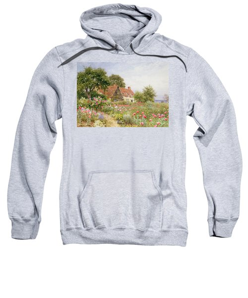 A Cottage Garden Sweatshirt