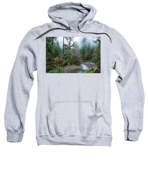 A Creek Runs Through It Sweatshirt