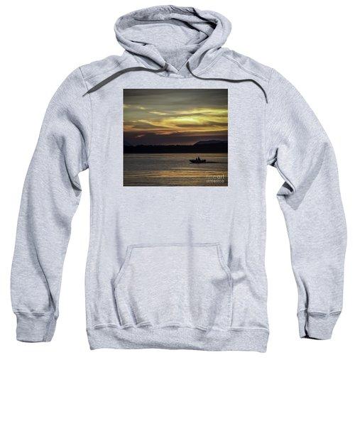A Day Of Fishing Sweatshirt