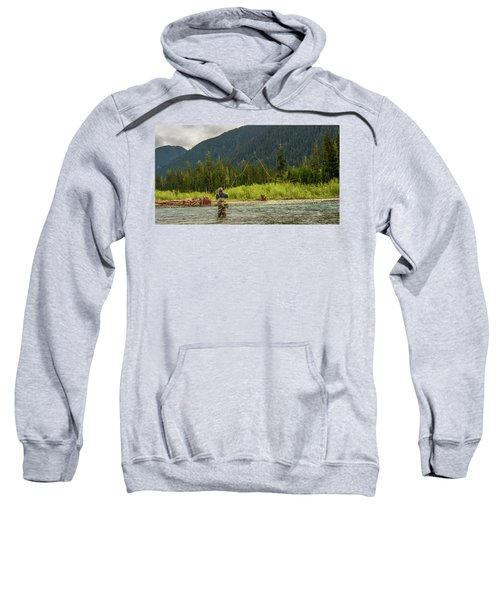 A Day On The River Sweatshirt