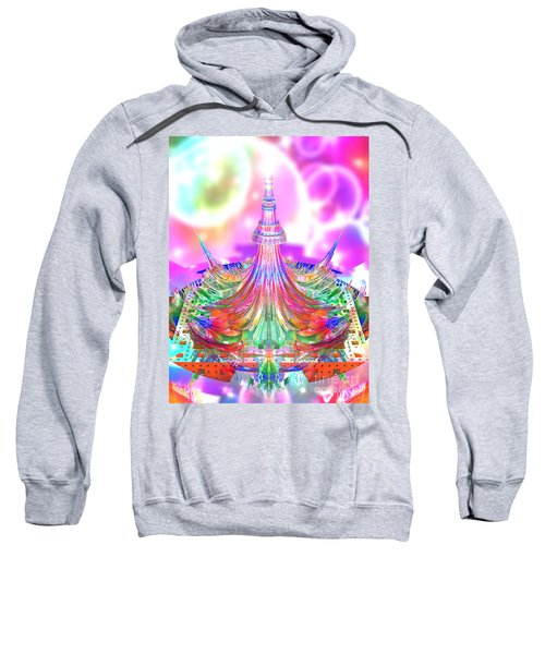 A Drop Of 3d Mandelbrot Sweatshirt