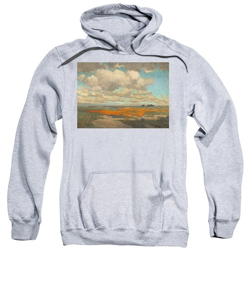A Field Of California Poppies Sweatshirt