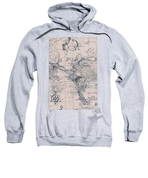 A Fishermans Map Sweatshirt
