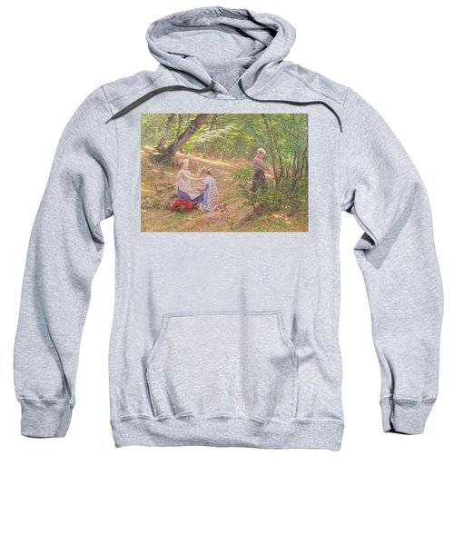 A Garland Of Flowers Sweatshirt