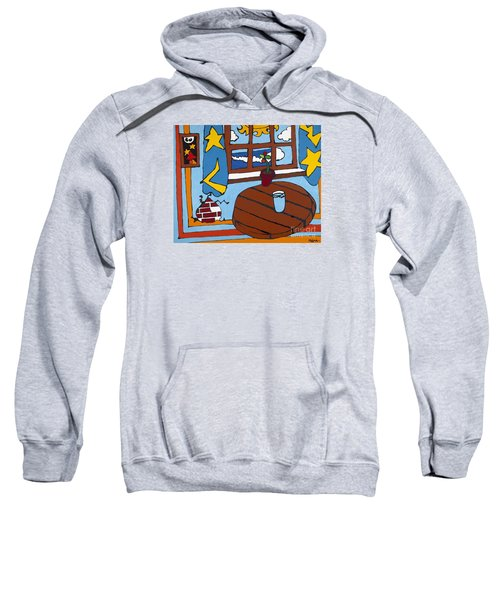 A Glass Of Water Sweatshirt