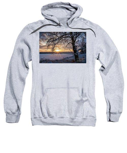 A Glenmore Sunset Sweatshirt