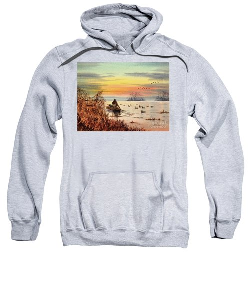 A Great Day For Duck Hunting Sweatshirt
