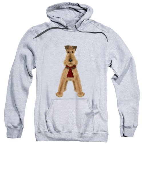 A Is  For Airedale Sweatshirt