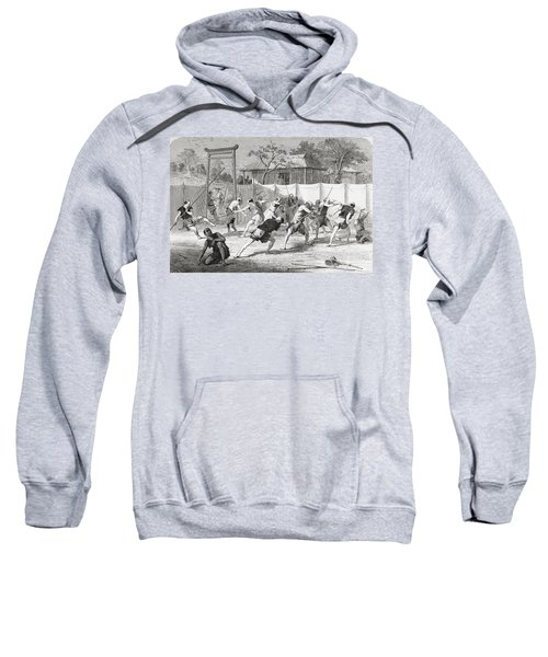 A Japanese Fencing School In The 19th Sweatshirt