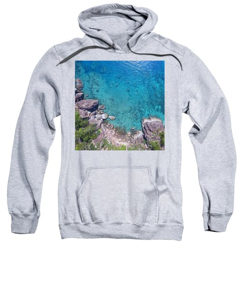 A Little Square Of Paradise  Sweatshirt