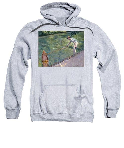 A Man Docking His Skiff Sweatshirt