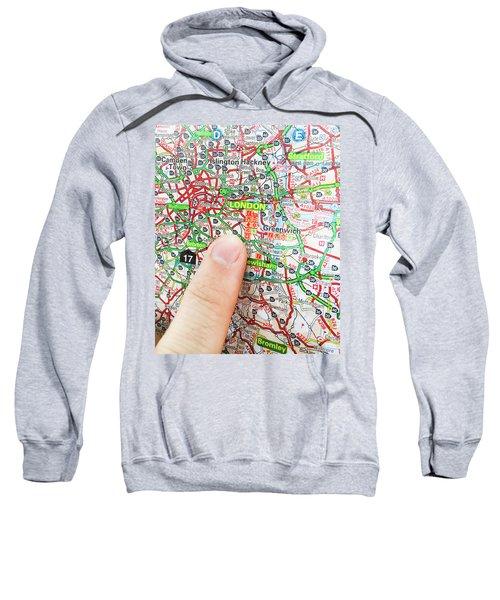 A Map Of London Sweatshirt