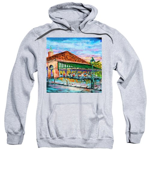 A Morning At Cafe Du Monde Sweatshirt