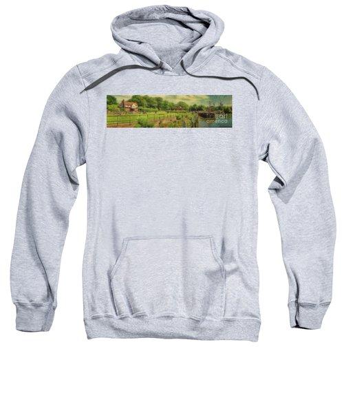A Morning At Teddington Lock Sweatshirt