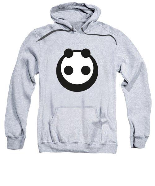 A Most Minimalist Panda Sweatshirt