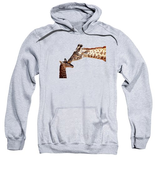 A Mother's Kiss Painted Sweatshirt