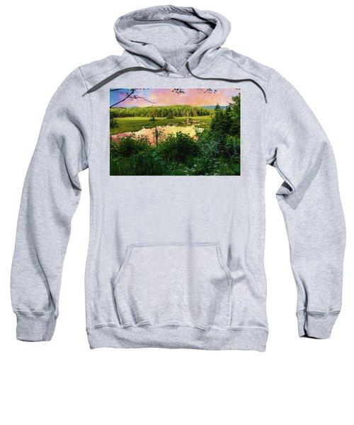 A New England Bog. Sweatshirt