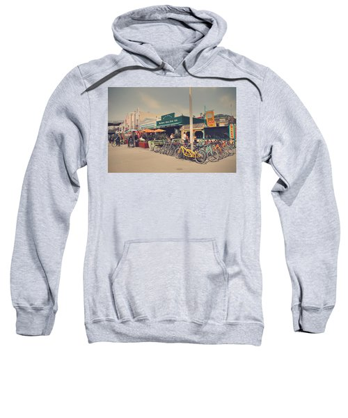 A Perfect Day For A Ride Sweatshirt by Laurie Search