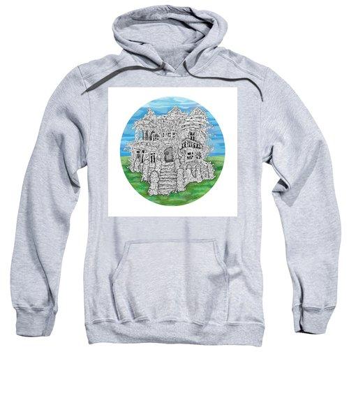 House Of Secrets Sweatshirt by Smokini Graphics