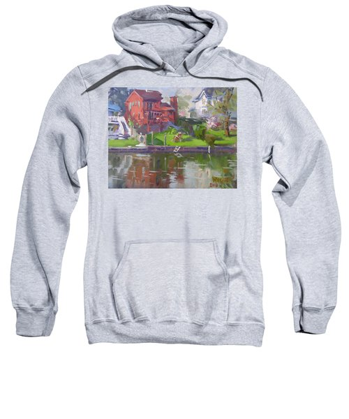 A Quiet Afternoon By The Canal Sweatshirt