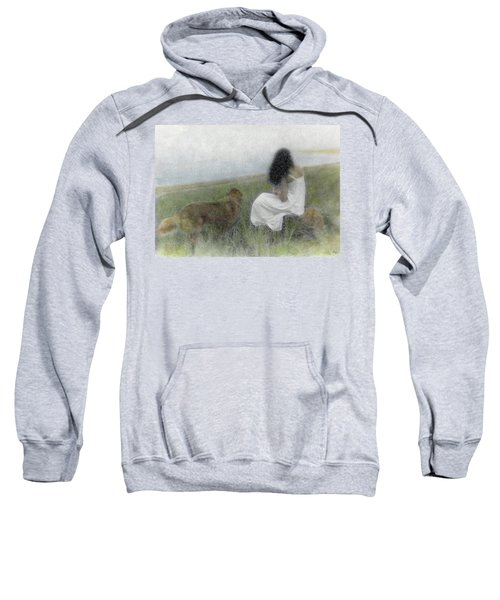 A Quiet Moment On The Vineyard Sweatshirt