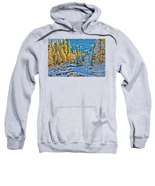 A River Runs Down It Sweatshirt