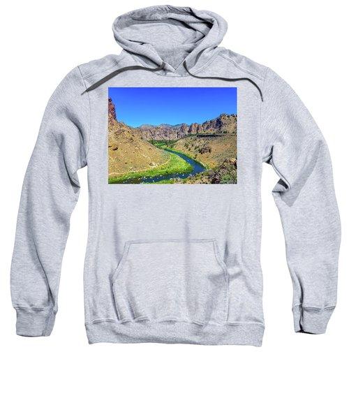 A River Runs Through Sweatshirt