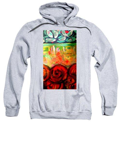 A Rose Is A Rose Sweatshirt