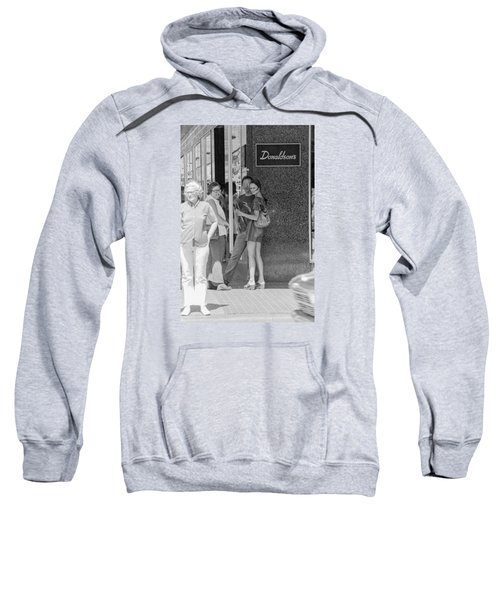A Sidewalk Conference Sweatshirt